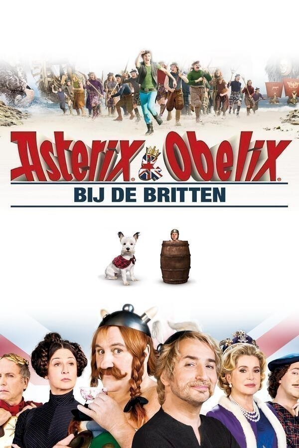Asterix en Obelix bij de Britten