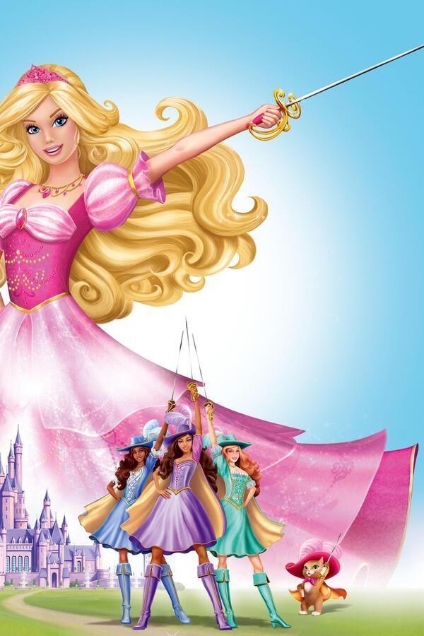 Barbie en de drie Musketiers