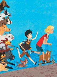 Jacob, Mimmi en de pratende honden image