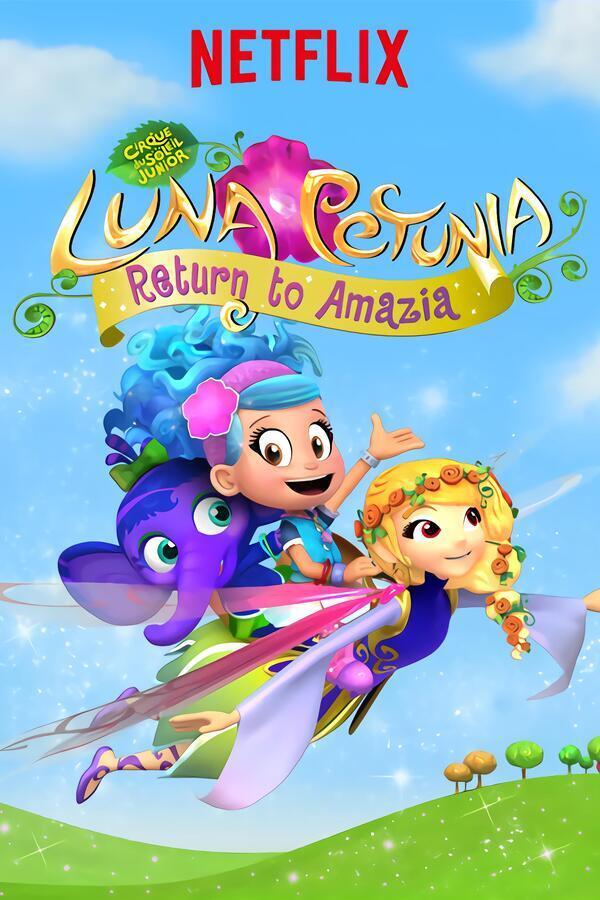 Luna Petunia: Terug naar Amazia image