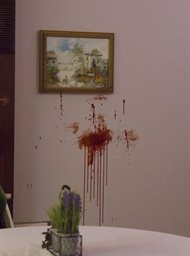 Murder comes home image