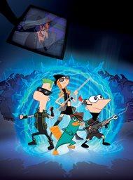Phineas en Ferb, dwars door de 2de dimensie