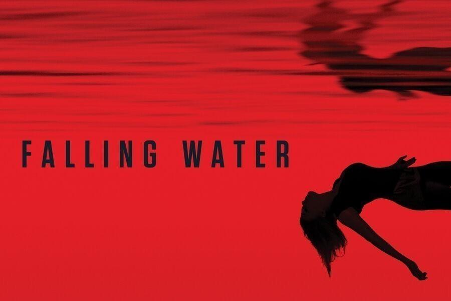 Falling water image