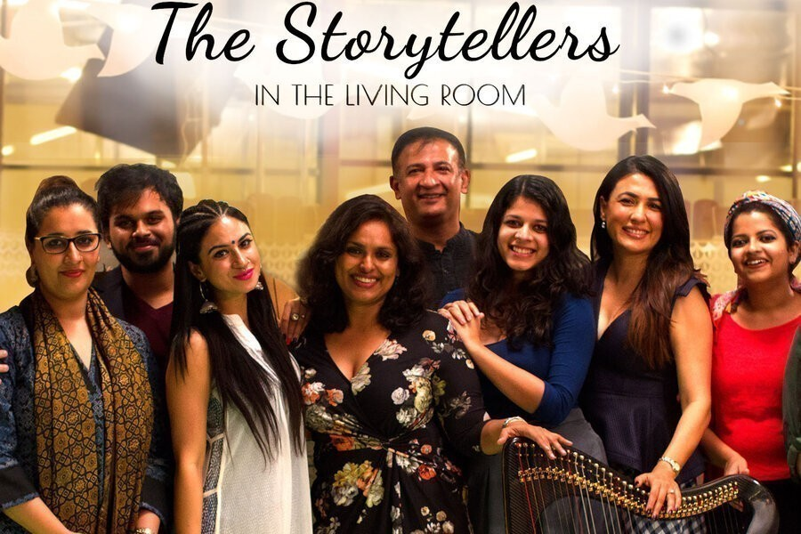 The Storytellers in the Living Room image