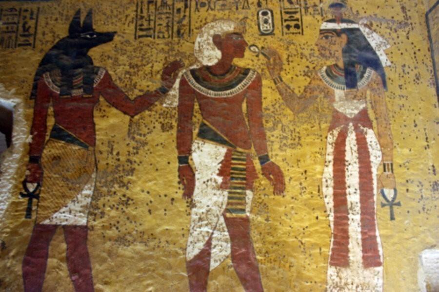 Egypt's treasure guardians image