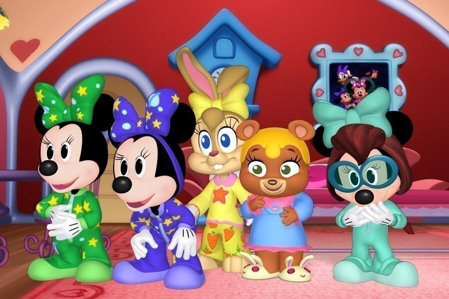 Minnie's strikken toons image