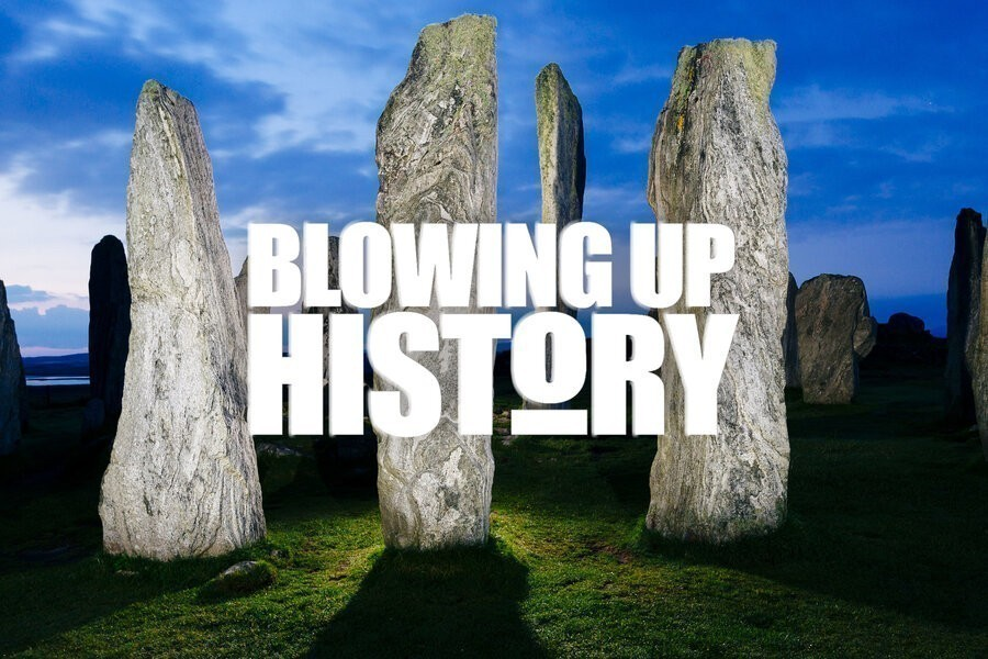 Blowing up history image