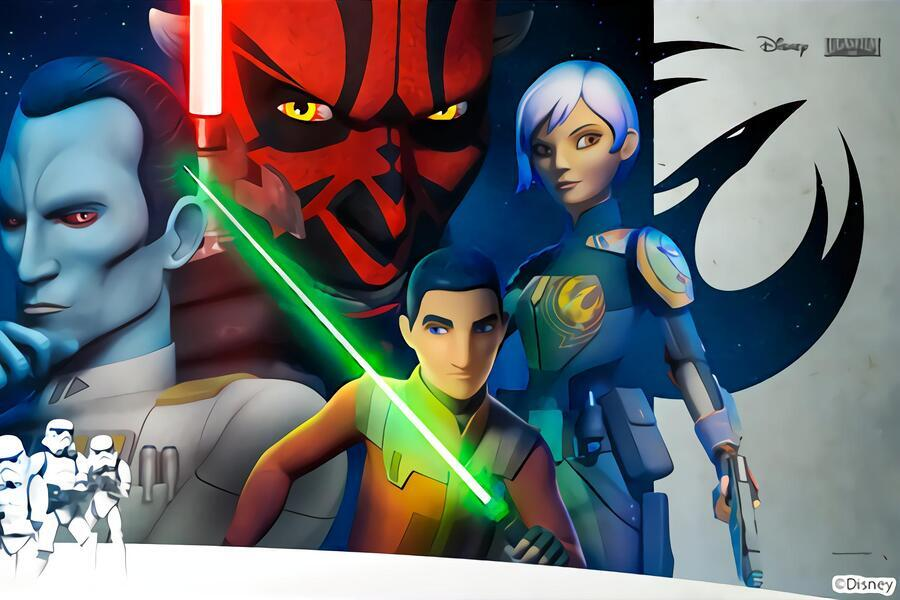 Star Wars rebels (shorts) image