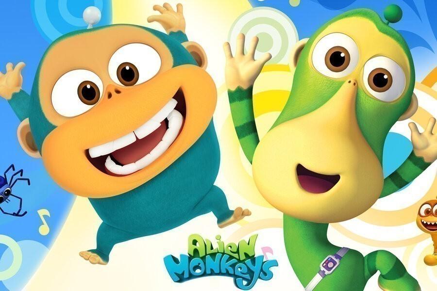Alien Monkeys image