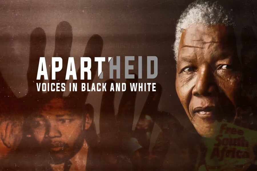 Apartheid, voices in Black and White image