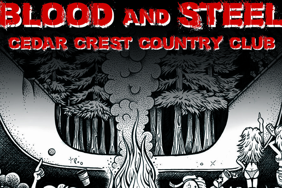 Blood and Steel, Cedar Crest Country Club image