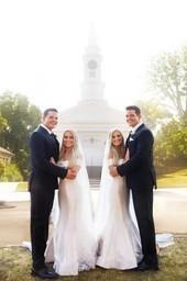 Our twinsane wedding
