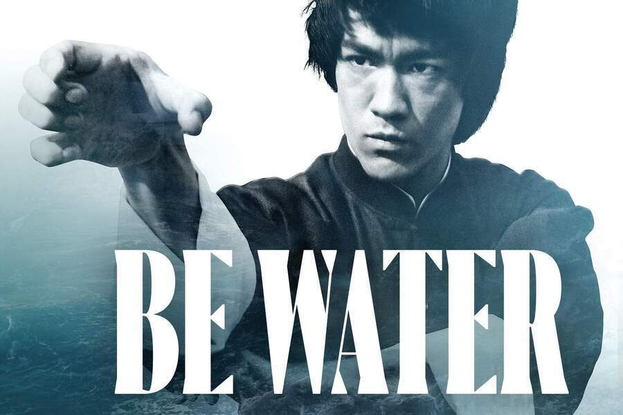 Be water image