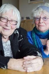 Twee zussen in verzet