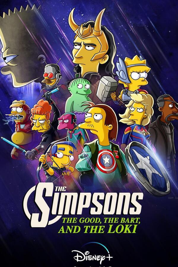 The Simpsons: The Good, the Bart, and the Loki image