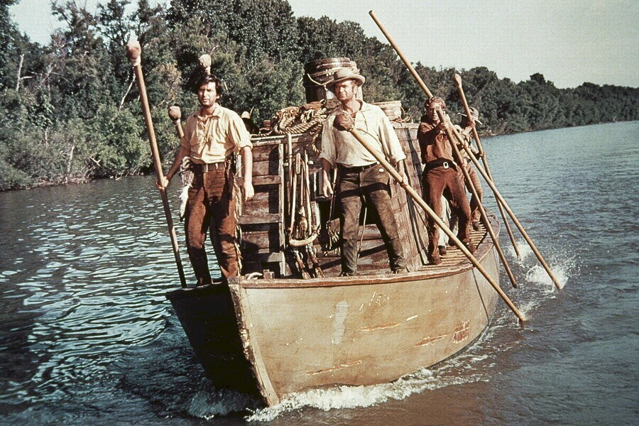 Davy Crockett and the River Pirates image