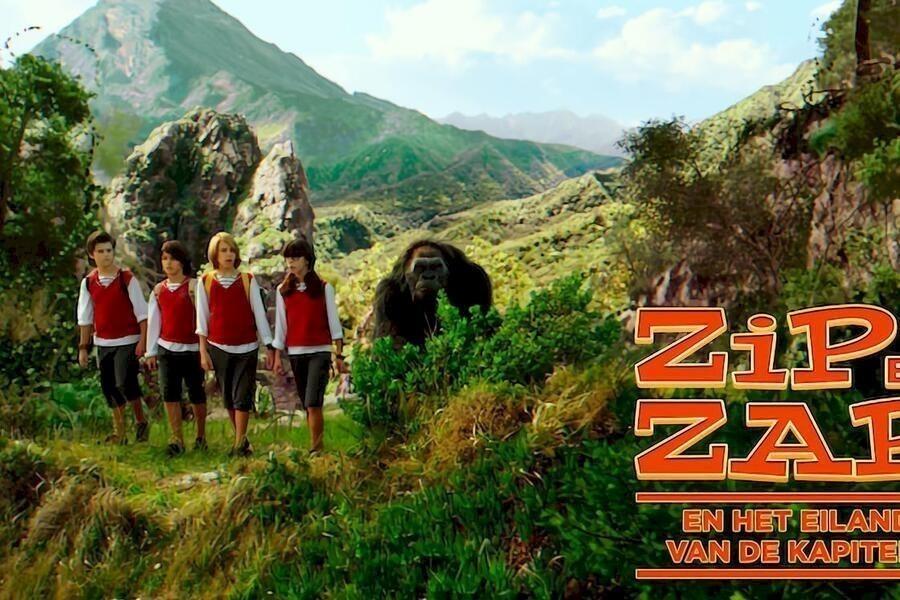 Zip en Zap en het eiland van de kapitein image