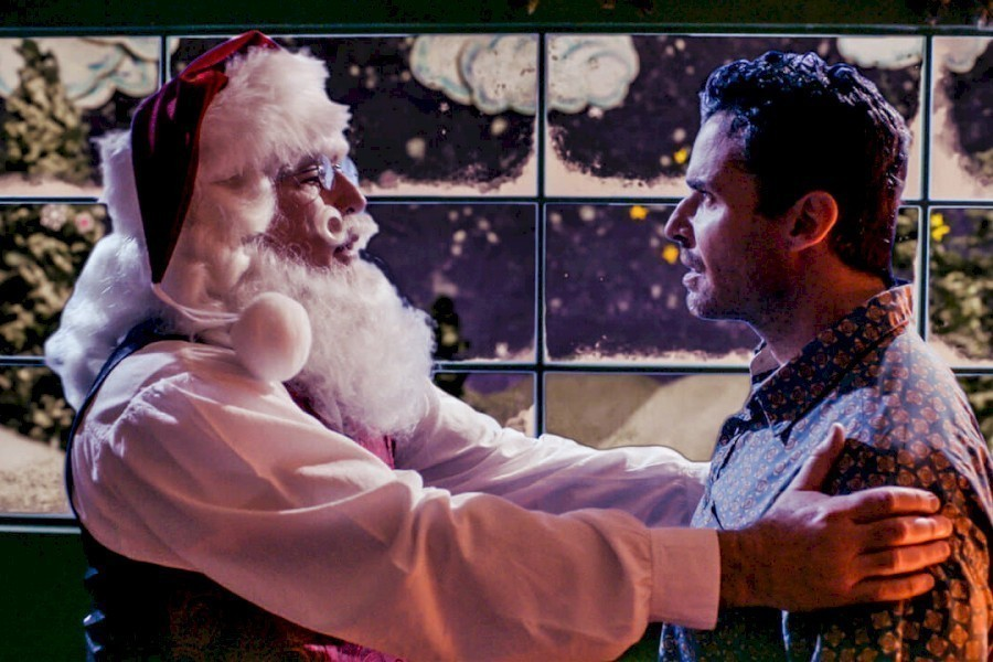 Santa in Training image