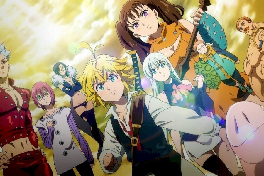 The Seven Deadly Sins: Cursed by Light image