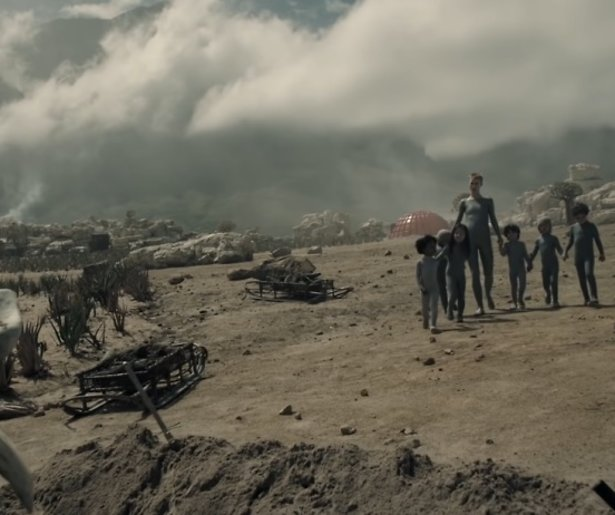 Trailer: De bizarre HBO Max-serie Raised by Wolves van Ridley Scott