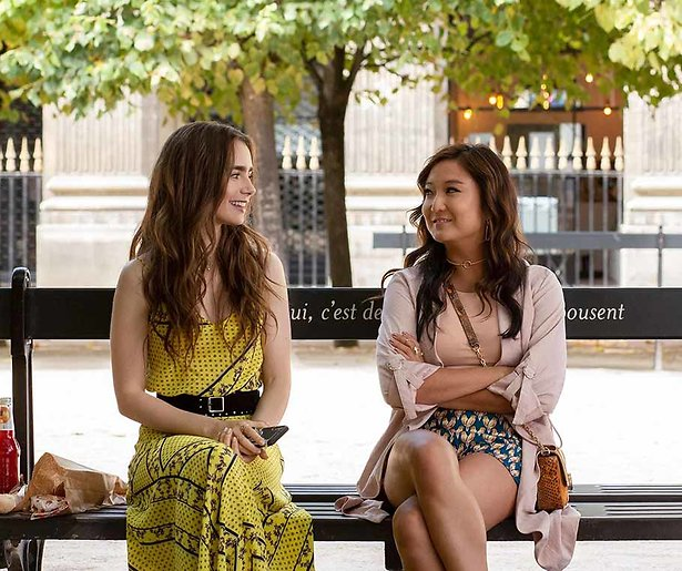 Aaah l'amour! Lily Collins is charmant in de nieuwe Netflix-serie Emily in Paris