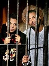 Rappers achter de tralies