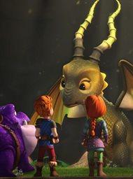 Draken: Reddingsrijders: Jacht op de gouden draak