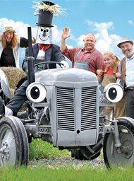Fergie de kleine grijze tractor en de dansende geit