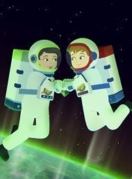 De magische schoolbus rijdt opnieuw: kids in de ruimte
