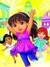 Dora and friends